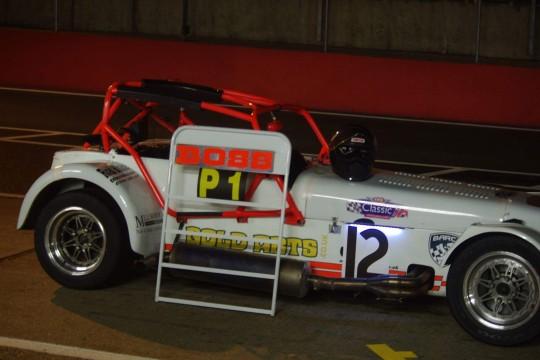 Boss Racing night race
